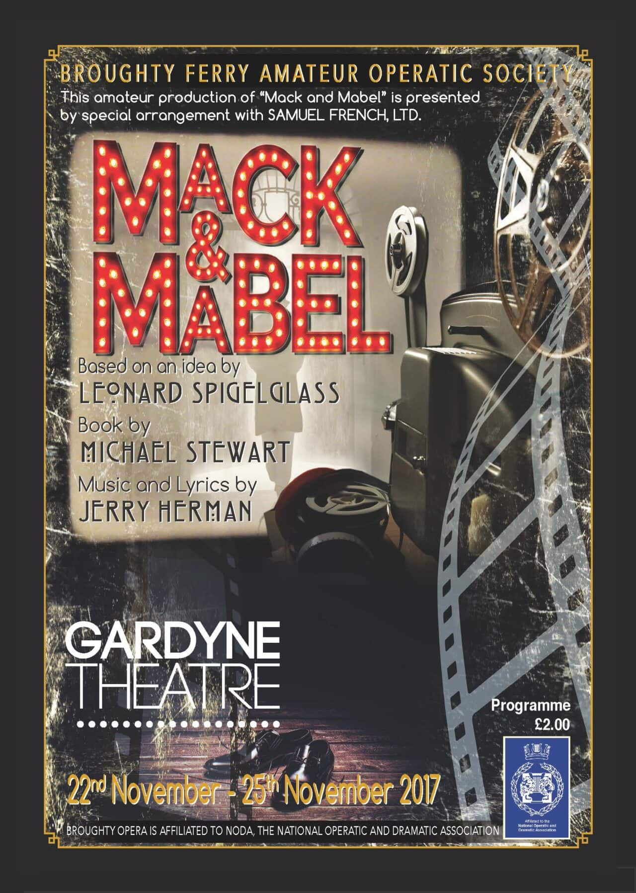 Mack and Mabel poster 2017